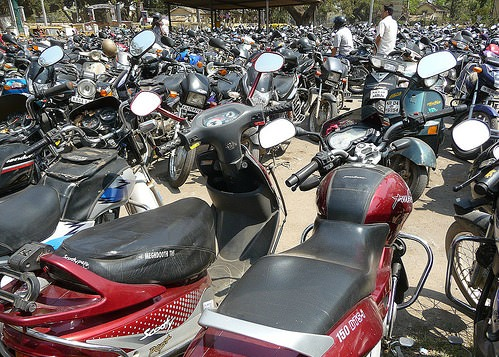 Two wheelers in India